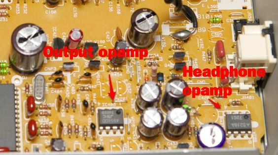 opamps pioneer pd-s505