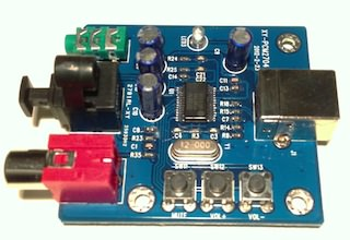 PCM2704 Ebay usb audio card