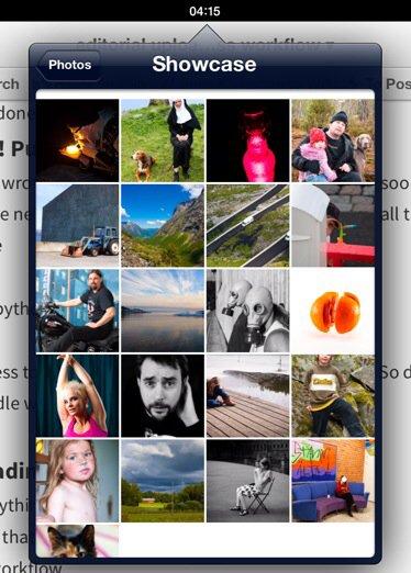 Image select dialog