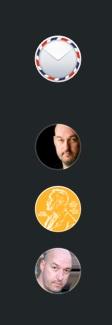 Accounts icons