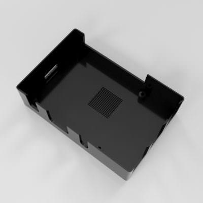 Raspberry Pi 3 Case Bottom View