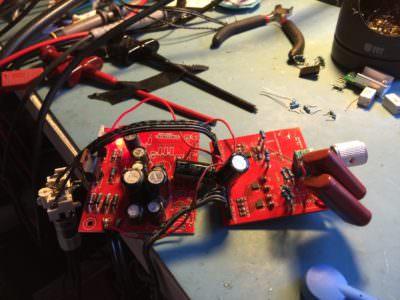 Jacken Headphone Amplifier Prototype