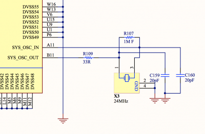 Image of Odroid C2 Crystal Schematic