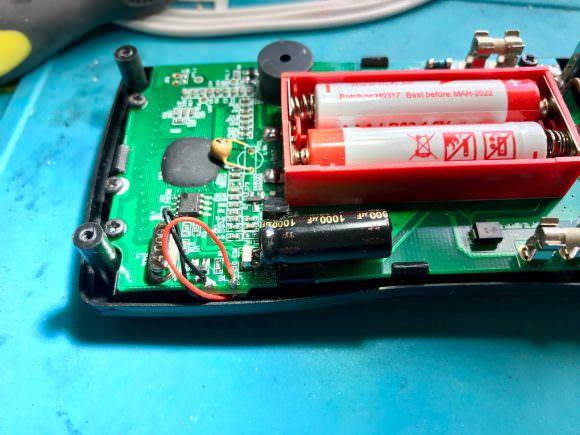 Aneng AN8009 Modifications photo